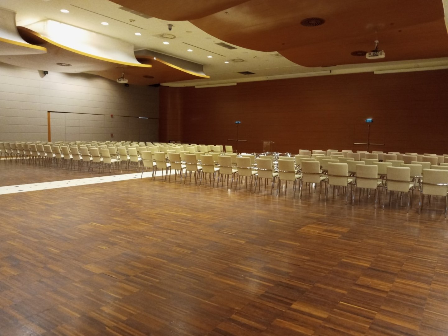 Event hall interior