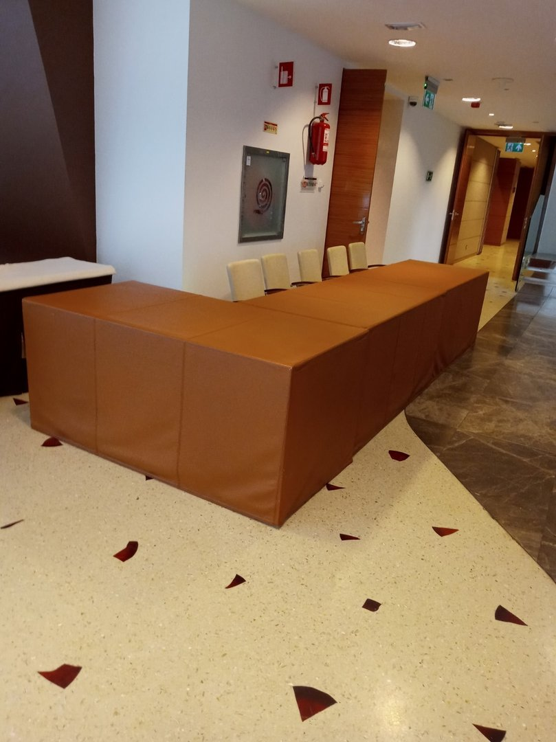 Design of information or reception counter
