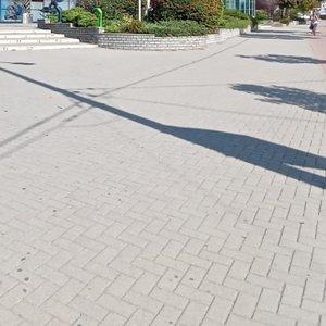 Draining of footpath
