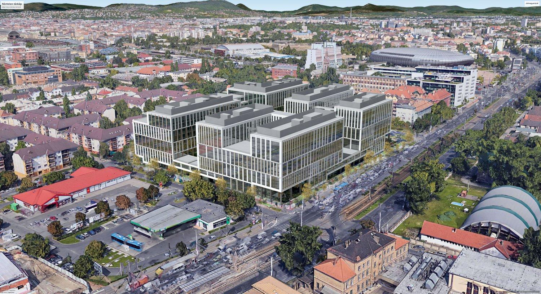 """Cover image of Aréna Business Campus """"A"""" épület"""