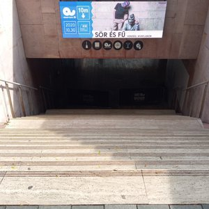 Level difference at the entrance