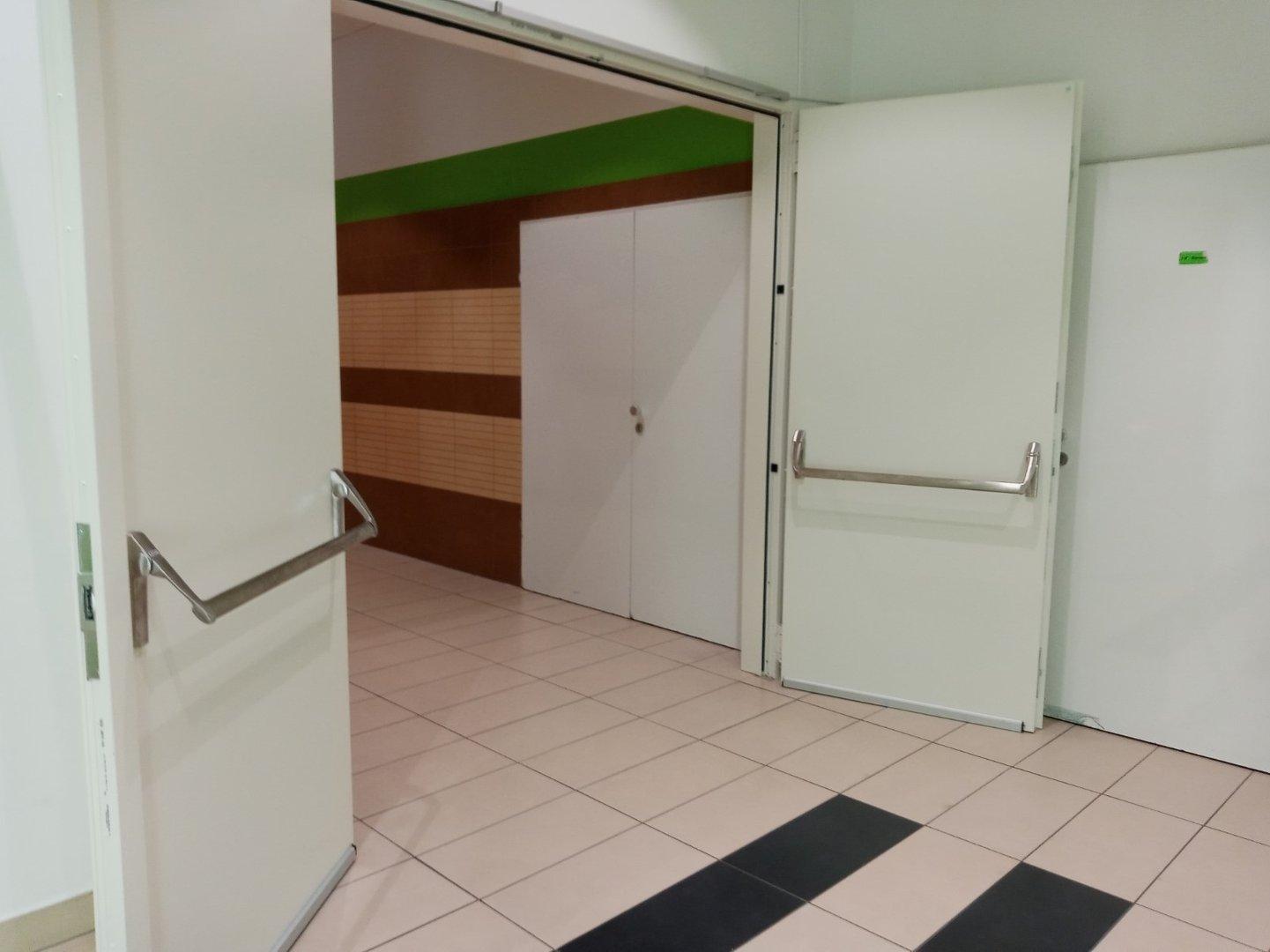 Disconnecting door