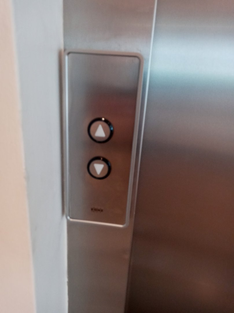 Height of call button