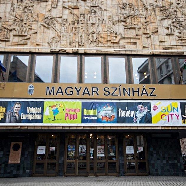 Cover image of Pesti Magyar Színház