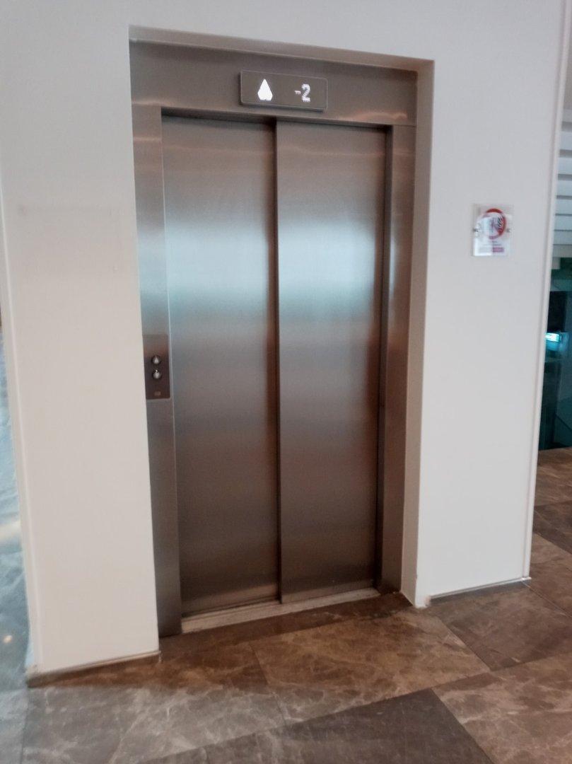Dimension of the lift door