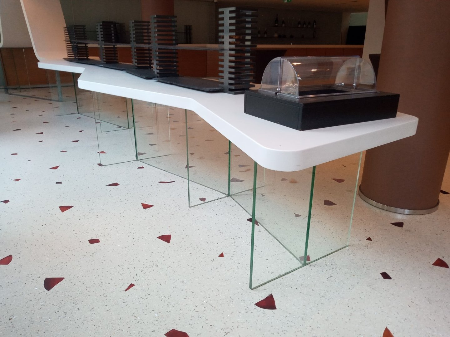 Accessible counter area