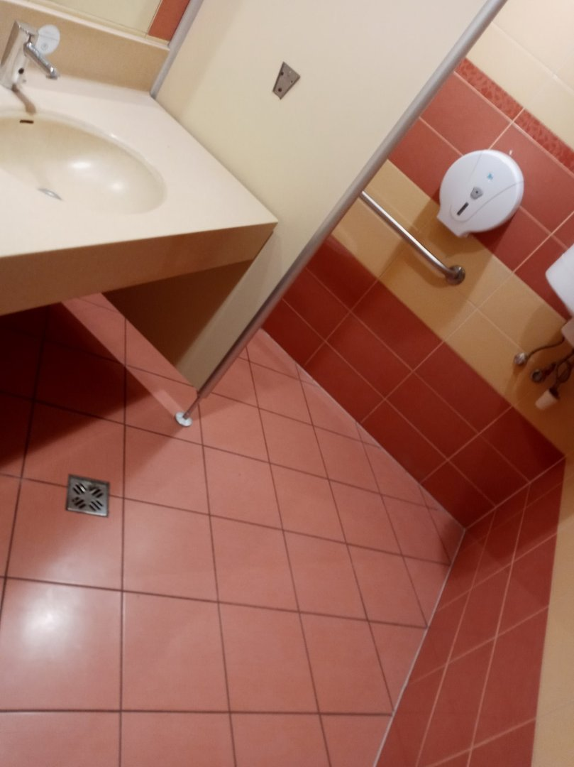 Accessible toilet room