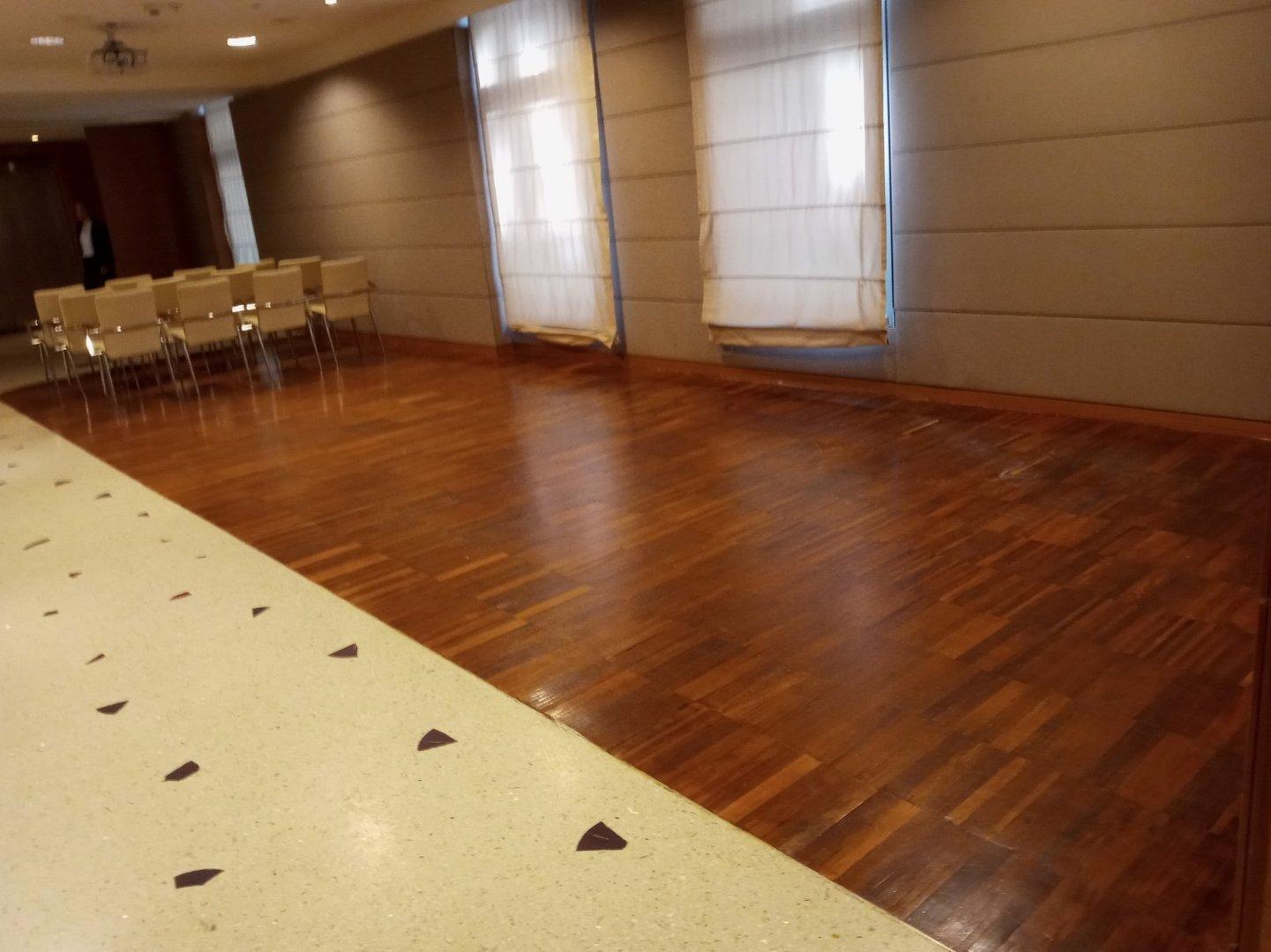 Cloakroom interior