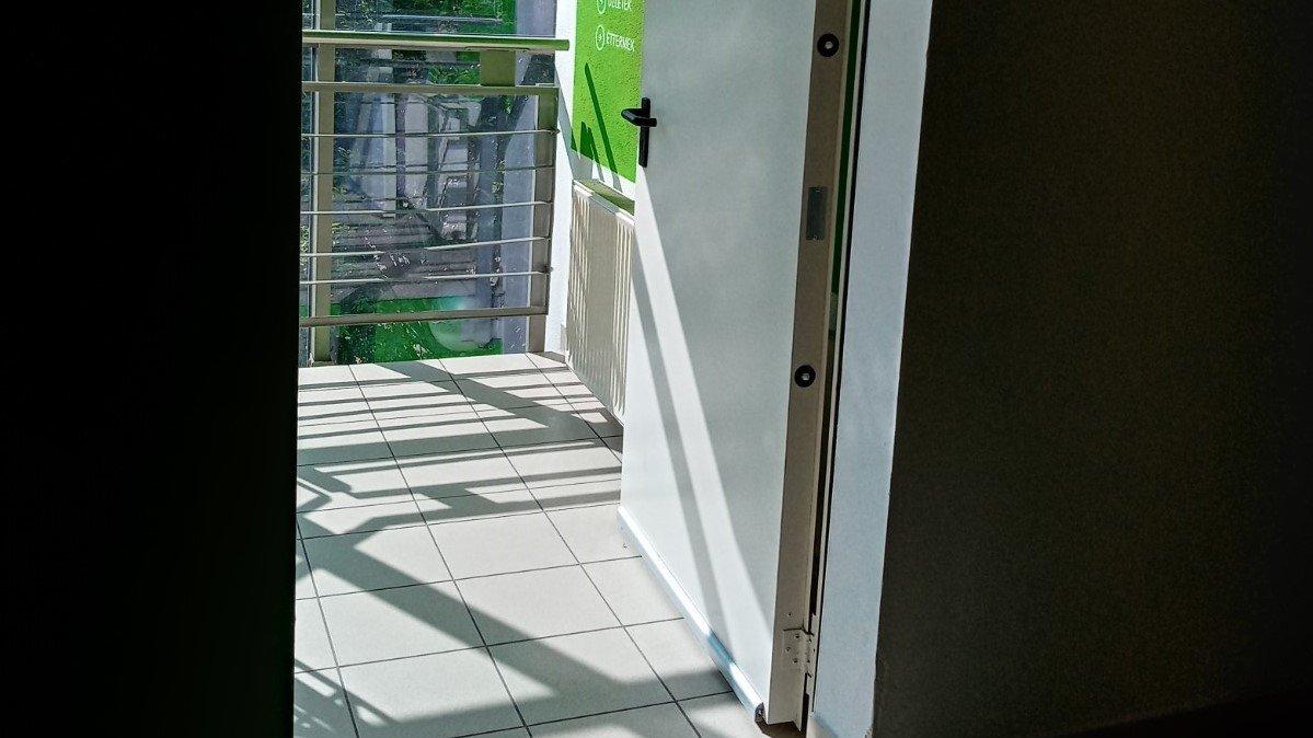 Height of door handle