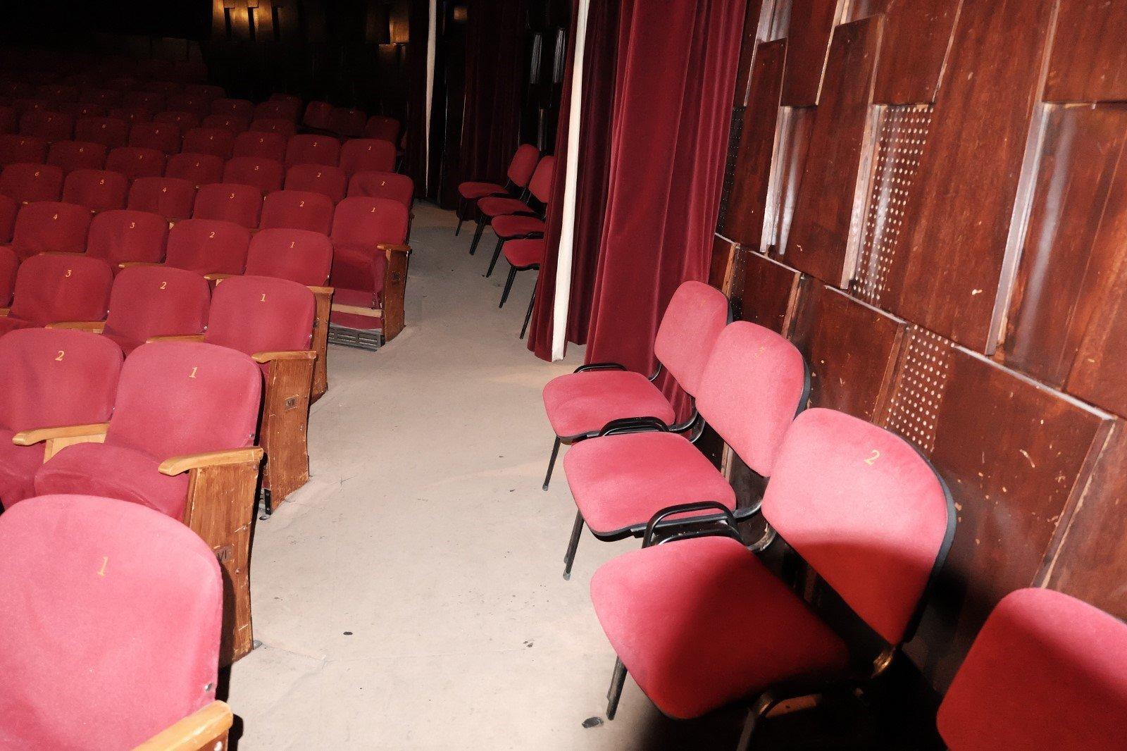 Theatre hall auditorium