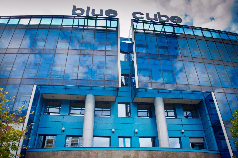 Cover image of Blue Cube irodaház